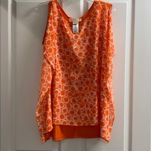 Michael Kors blouse with butterfly sleeves